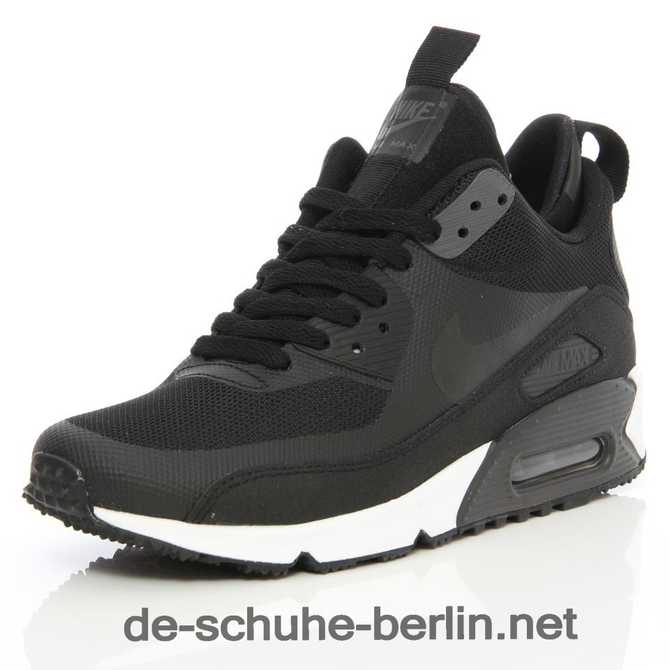 damen nike air max 90 schwarz