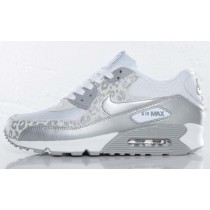BEQUEME TURNSCHUHE DAMEN NIKE AIR MAX 90 SNOW LEOPARDENMUSTER SNEAKERS-20